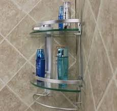 Glass Bathroom Corner Shelves Shower Corner Shelves Bathroom Pinterest Shower Corner Shelf