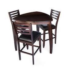 triangle pub table set contemporary satin chrome round bar table set bar room furniture