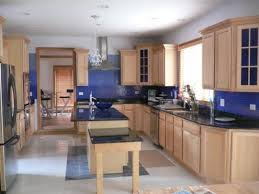 Painting Ideas For Kitchen Walls Kitchen Extraordinary Colorful Blue Kitchen Wall Tiles Creative