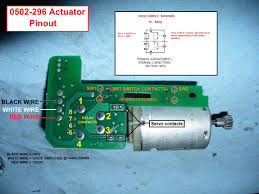 4wd actuator 0502 296 3 wire removal disassembly and