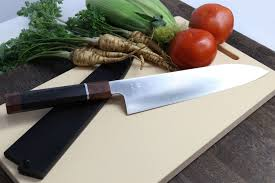 High Carbon Kitchen Knives by Super Blue High Carbon Steel Stainless Clad Gyuto Chefs Knife With