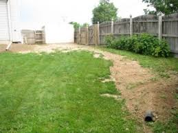 Water Drainage Problems In Backyard A Simple Trench Drain Ask The Builderask The Builder
