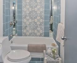 retro black white bathroom floor tile ideas and pictures design 37