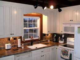 painted kitchen cabinets ideas before and after two tone kitchen