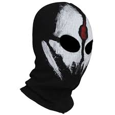 keegan ghost mask for sale amazon com innturt fabric ghost mask balaclava skull hood red