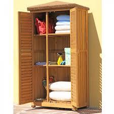 armadietto esterno armadio mobile mobiletto da giardino in legno box porta attrezzi