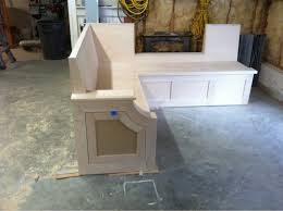 kitchen cabinet bench seat kitchen bench seat finish carpentry contractor talk