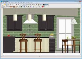 Home Designer Interiors Software Review by Kitchen Elevation Dimensions Plan Section Five12 West Wall Design