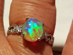 crystal opal rings images Opal jewelry customer creation spotlight black opal direct jpg