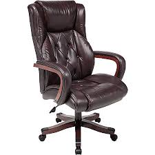 Realspace Carlton Executive Big Tall Bonded Leather Chair