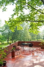 Houzz Patios Houzz Patios Patio Modern With Frank Lloyd Wright Deck
