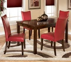 charrell 5 piece rectangular dining set by ashley furniture in