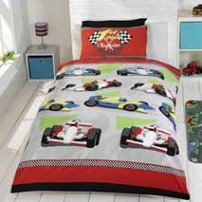 Cars Duvet Cover Superb Quality Modern Formula 1 Racing Motor Car Duvet Set And