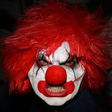 prosthetic halloween mask evil clown prosthetic u2013 morbid mask studio