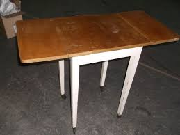 small table on wheels small drop leaf kitchen table on wheels approx 37 1 2 x 18 x 30 tall