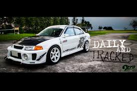 mitsubishi lancer evo 5 lancer evolution v daily and tracked 9tro