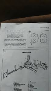 carb walkthrough vs repair manual 83 750 earlier vfrs