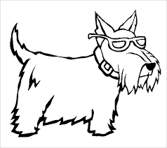 15 scottie dog templates crafts u0026 colouring pages free