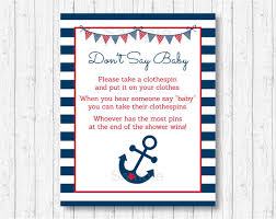anchor baby shower nautical don t say baby nautical baby shower anchor baby