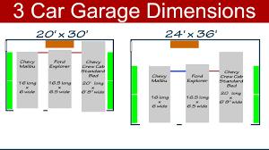 1 5 car garage plans average size of a 1 car garage
