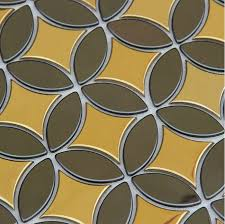 Mirrored Mosaic Tile Backsplash by Golden Metal Mosaic Tiles Backsplash Smmt060 Stainless Steel