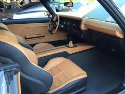 Brown Car Interior Smitty U0027s Custom Automotive 71 Chevelle Becausess Green With Brown