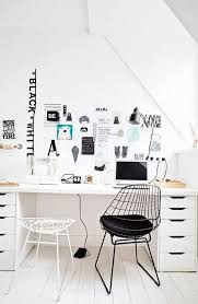 Typing Chair Design Ideas 50 Stylish Scandinavian Home Office Designs Digsdigs