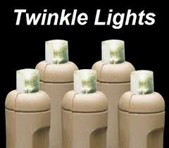 brown cord lights