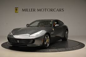 ferrari grill 2017 ferrari gtc4lusso stock f1769b for sale near greenwich ct
