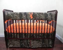 Duck Crib Bedding Set Camo Baby Bedding Etsy