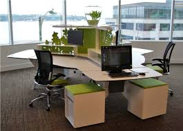 Tribeca Loft Desk by Office Design Impressive Sustainable Office Design Photo