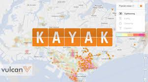 Kayak Map Kayak U0027s New Heat Map Helps You Pick Travel Accomodation