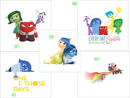 Wall Art Stickers And Decals by Cartoon Movie Inside Out Wall Art Decal Sticker Joy Angry Sadness