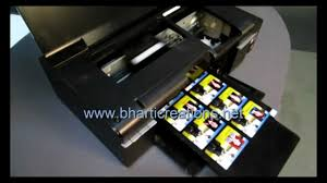 Instant Business Card Printing Pvc 10 Id Card Inkjet Printer Youtube