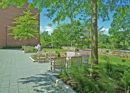 bentley college campus bentley university campus entry plaza u2013 warner larson landscape