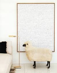 Sheep Home Decor Design Sleuth Lalannes Style Sheep As Decor Remodelista