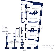 five bedroom floor plan deluxe suites overlooking green park the ritz london hotel