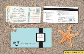 Boarding Pass Wedding Invitation Card Boarding Pass Wedding Invitations Casadebormela Com