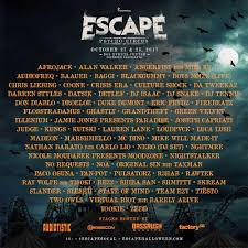 Escape Psycho Circus Lineup Is Here Escape Psycho Circus 2017
