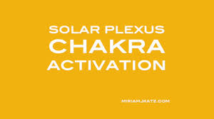 solar plexus location solar plexus chakra activation youtube