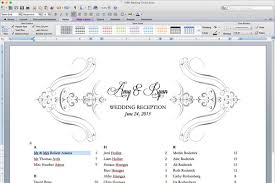 Free Wedding Seating Chart Template Excel Free Printable Wedding Reception Templates The Budget Savvy