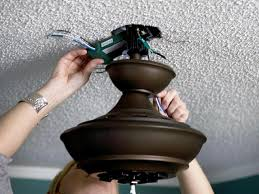 Replace Ceiling Light With Fan How To Replace A Light Fixture With A Ceiling Fan How Tos Diy