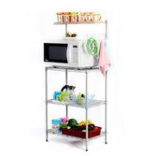 Bakers Rack Amazon Whitmor 6054 268 Supreme Bakers Rack Chrome And Wood Whi Https