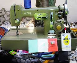 necchi mira bu automatica zig zag sewing machine case serviced