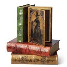 vintage halloween decorations ebay vintage halloween book boxes the green head