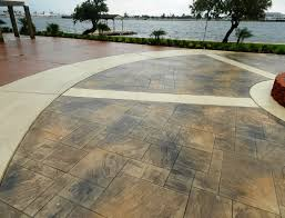 Flagstone Stamped Concrete Pictures by Galveston Stamped Concrete Driveway Surecrete Products