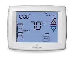 emerson 1f95 1277 touchscreen 7 day programmable thermostat