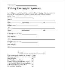wedding contract wedding planner contract sample templates best