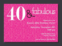 colors 40th birthday invitations cocktail party with 40th