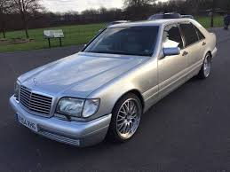 mercedes s500 1996 stunning w140 mercedes amg s500 limo 150k fsh for sale 1996